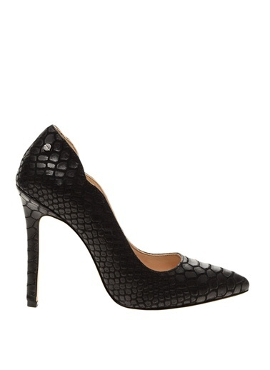 House Of Camellia Topuklu Ayakkabı Siyah